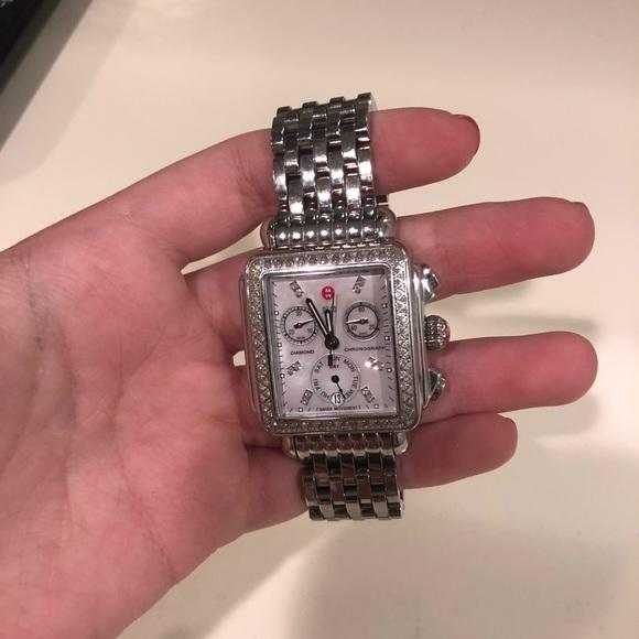f83986cb7936 Michele Diamond Deco Watch large face. M_5b5c5af37c979d2bcfb32897. Other  Accessories ...